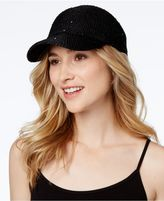 INC International Concepts Sequin Packable Baseball Cap, Created for Macy's