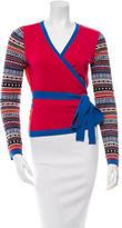 Diane von Furstenberg Wool Wrap Cardigan