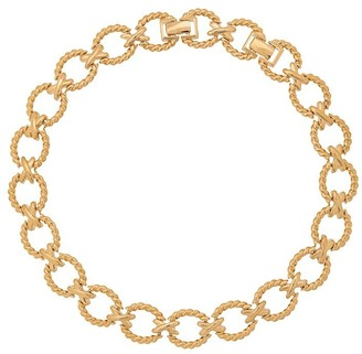 Nina Ricci Pre-Owned 1980s Chain Link Necklace