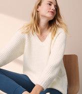 LOFT Lou & Grey Slouchy Shirttail Sweater