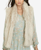 Denim & Supply Ralph Lauren Faux-Fur Vest