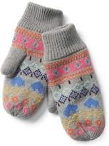 Gap Fair isle mittens
