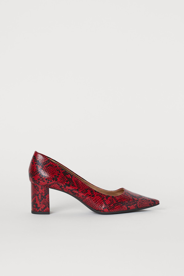 H&M Pointed court shoes