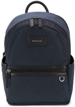 Michael Kors Logo-Patch Medium Backpack