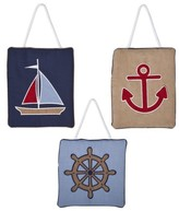 JoJo Designs Jo Jo Designs Sweet Nautical Nights Wall Hangings