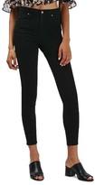 Topshop Women's Jamie High Waist Ankle Grazer Skinny Jeans
