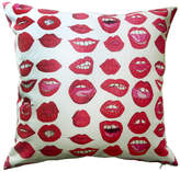 Kahri Sexy Red Lips Pillow Case