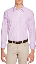 Tailorbyrd Pink Check Classic Fit Button Down Shirt