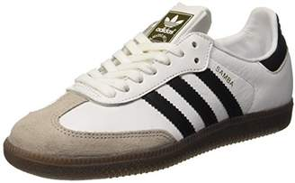 adidas Women's Samba Og Trainers, Footwear White/Core Black/Gum 5, 42 EU