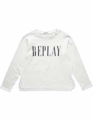 Replay Girl's Sg7130.050.20994 Long Sleeve Top