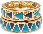 House Of Harlow Heirloom Ring Set 7 Turquoise