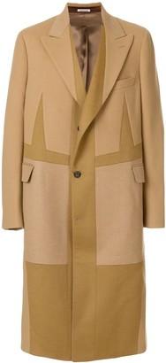Alexander McQueen Oversized Single-Breasted Coat