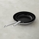 Williams-Sonoma Williams Sonoma Professional Stainless-Steel Nonstick Fry Pan Set