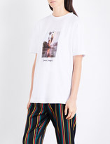 Palm Angels Burning cotton-jersey T-shirt