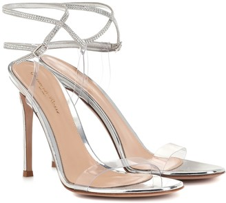Gianvito Rossi Exclusive to Mytheresa Embellished PVC sandals