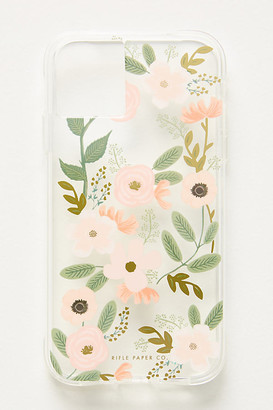 Rifle Paper Co. Watercolor iPhone Case By in Pink Size L