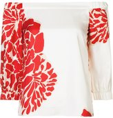 Tibi floral print blouse - women - Silk/Acetate - 4