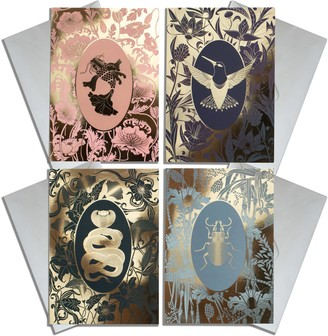 The Curious Department Elemental Greeting Cards Set Of 4