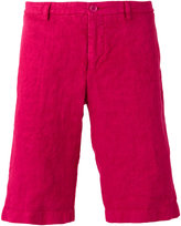 Etro bermuda shorts - men - Linen/Flax - 46