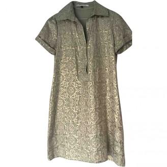 Diane von Furstenberg Gold Cotton Dresses