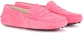 Tod's Gommini Suede Loafers