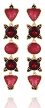 Nanette Lepore Beautifully Berry Drop Earring