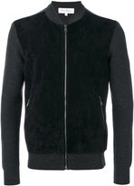Salvatore Ferragamo bomber-style zipped sweater