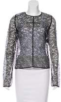 Emilio Pucci Lace Long Sleeve Top w/ Tags
