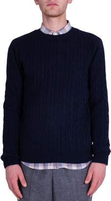 Mauro Grifoni Braids Sweater - Blue