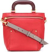 Anya Hindmarch zipped bucket shoulder bag