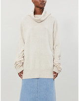 Maison Margiela wool and cashmere-blend jumper