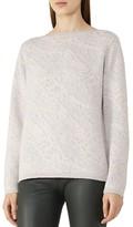 Reiss Wesley Jaquard Sweater