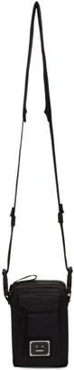 Acne Studios Black Ripstop Plaque Shoulder Bag