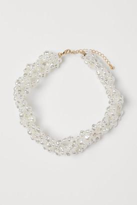 H&M Multi-strand Necklace - White