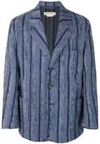 Marni striped blazer