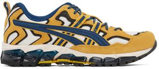 Asics Yellow and White GEL-NANDI 360 Sneakers