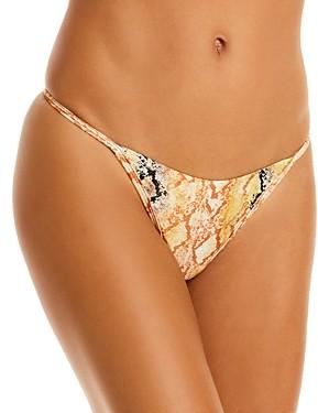 L-Space Jay Printed Bikini Bottom