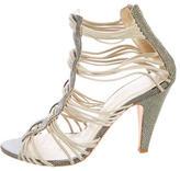 Loeffler Randall Embellished Multistrap Sandals