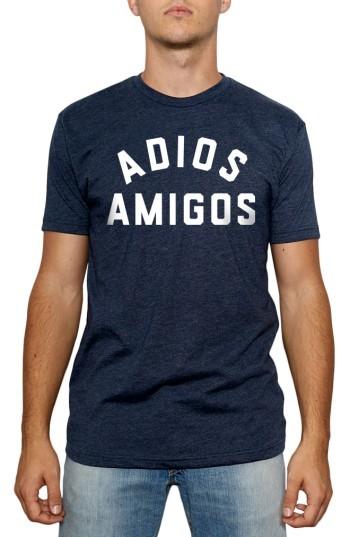 Kid Dangerous Men's Adios Amigos Graphic T-Shirt
