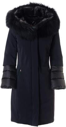 Rrd Roberto Ricci Design RRD - Roberto Ricci Design Winter Hybrid Zarina Lady Fur Coat