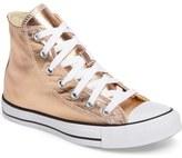 Converse Chuck Taylor ® All Star ® Metallic High Top Sneaker (Women)