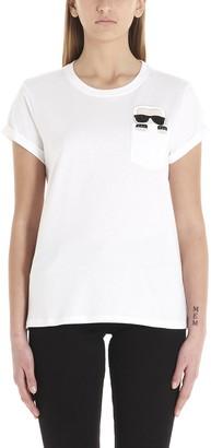 Karl Lagerfeld Paris Ikonik Pocket T-Shirt