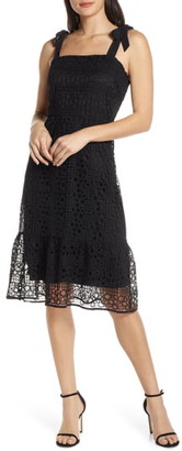 Sam Edelman Circle Crochet Lace Sundress