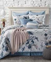 Sunham Closeout! Kelly Ripa Home Indigo Mood Reversible 10-Pc. Queen Comforter Set Bedding