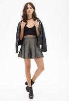 Forever 21 FOREVER 21+ Mesh A-Line Skater Skirt