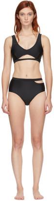 MARIEYAT Black Ryym Sade Bikini