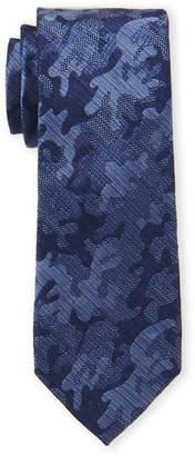 MICHAEL Michael Kors Silk-Blend Textured Camo Tie