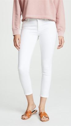 DL1961 Florence Cropped Mid Rise Skinny Jeans