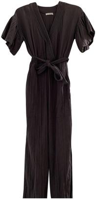 Ulla Johnson Grey Cotton Jumpsuit for Women