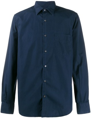 Aspesi Front Pocket Detail Shirt